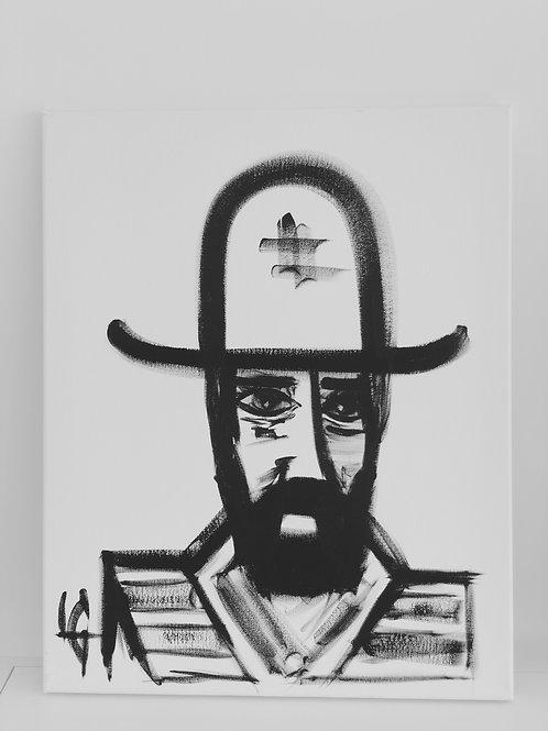 Hombre con sombrero 327