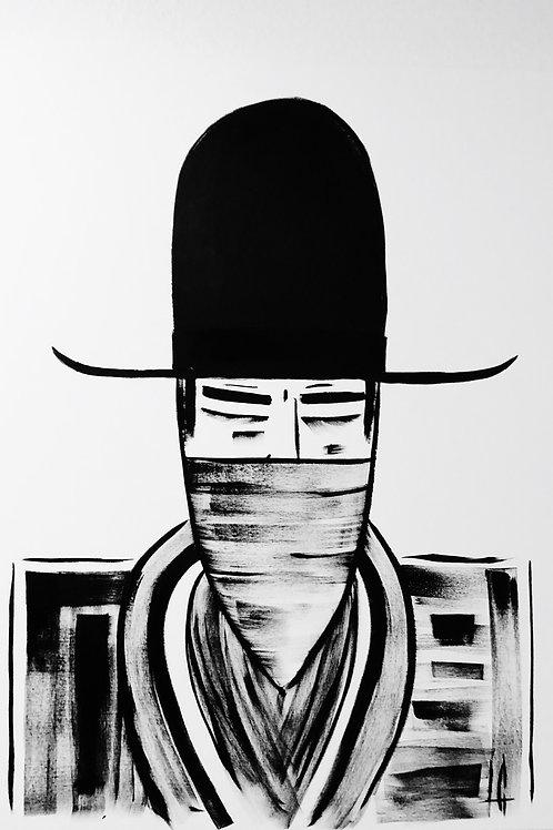 Man in Hat 402