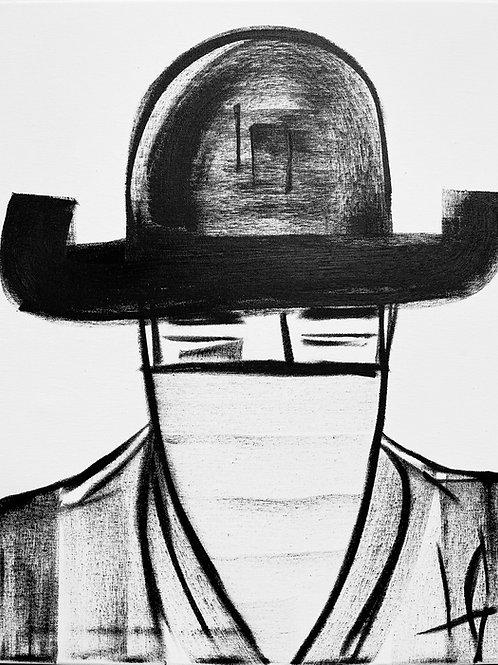Man in Hat 547