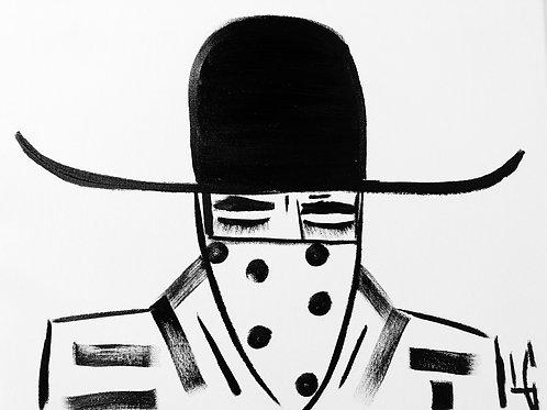 Man in Hat 392