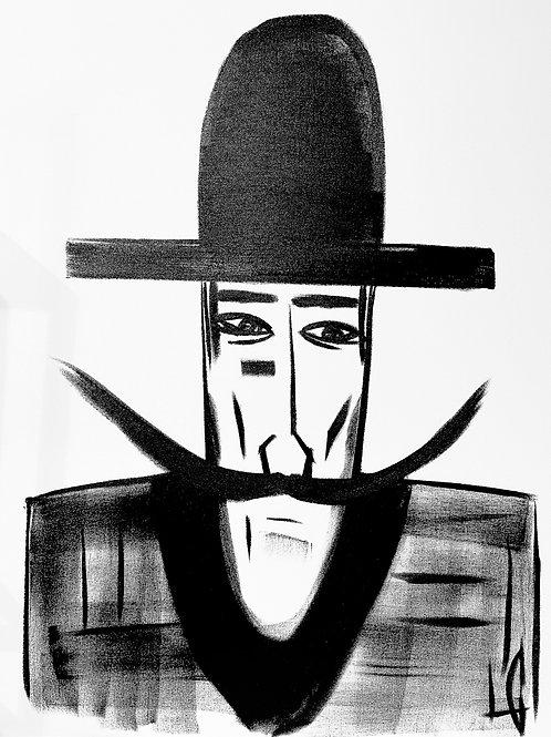 Man in Hat 582