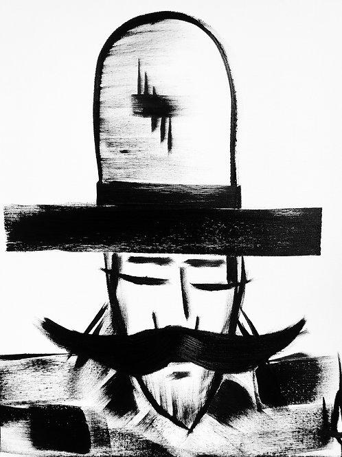 Man in Hat 411