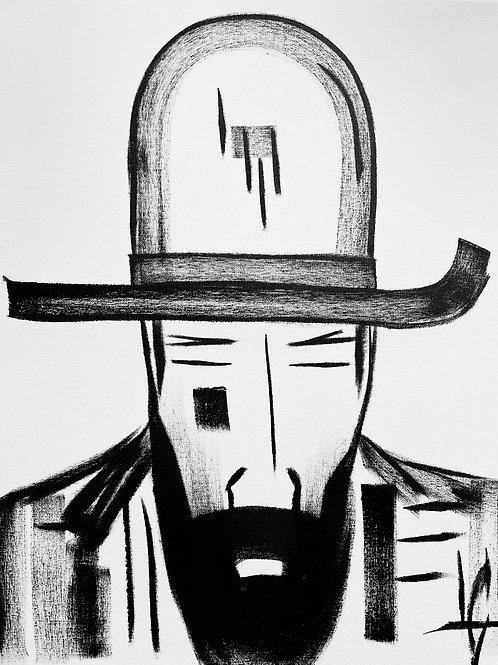 Man in Hat 543