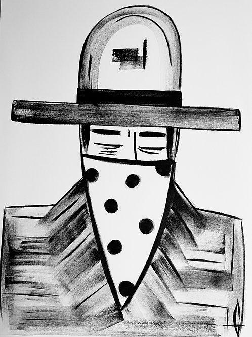 Man in Hat  574