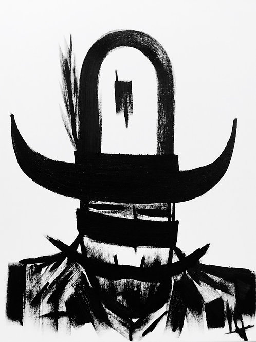 Man in Hat 454