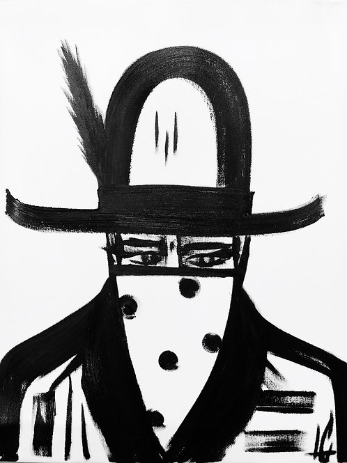 Man in Hat 472