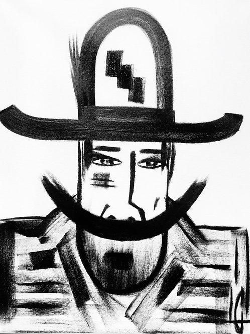 Man in Hat 503