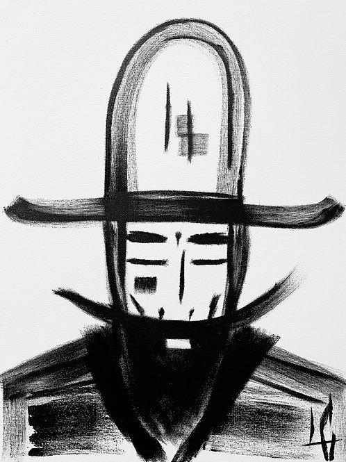 Man in Hat 584