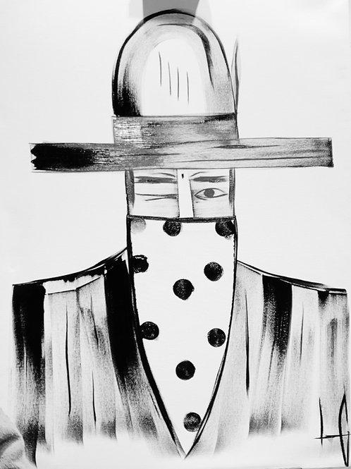 Man in Hat 618