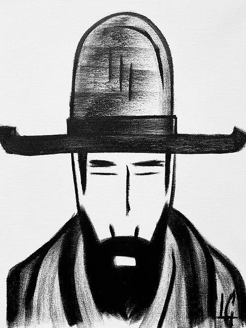 Man in Hat 563