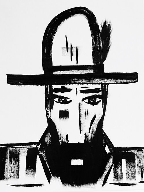 Man in Hat 444