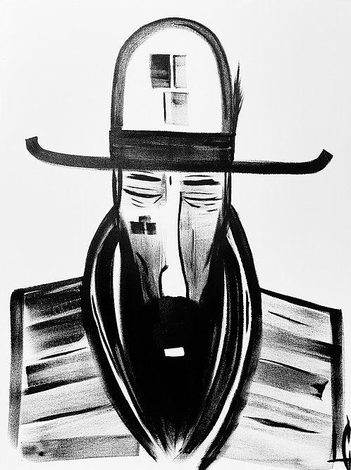 Man in Hat 577