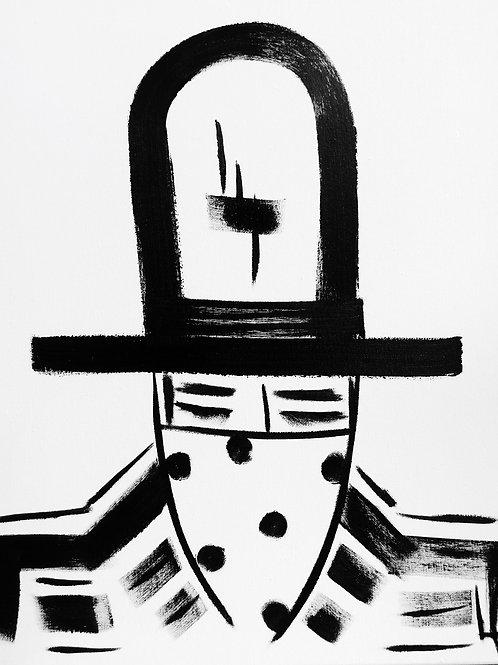 Man in Hat 422