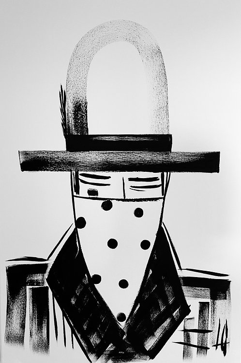 Man in Hat 593