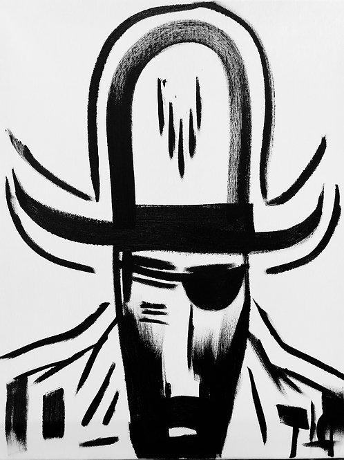 Man in Hat 465