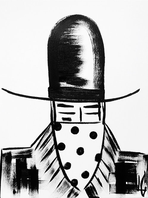 Man in Hat 449