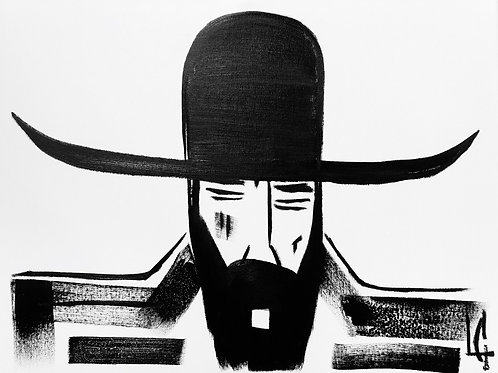 Man in Hat 391