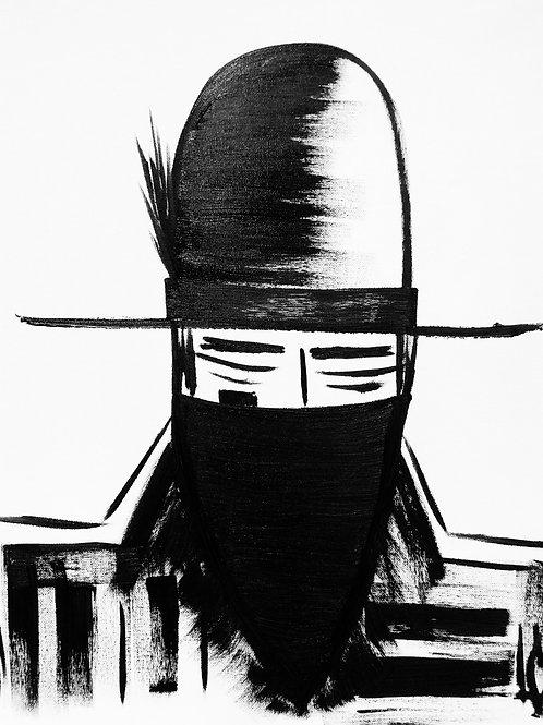 Man in Hat 432