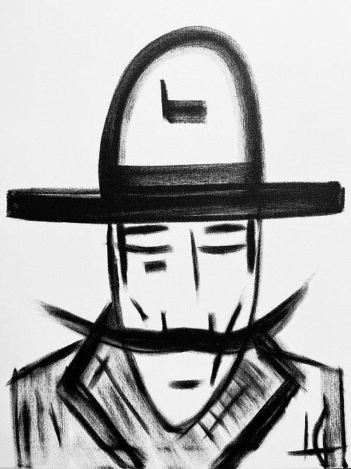 Man in Hat 545