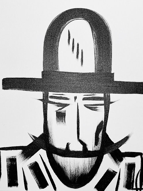 Man in Hat 498