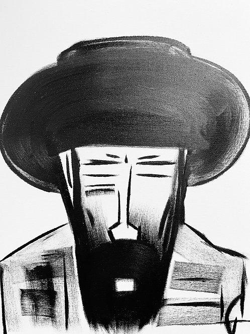 Man in Hat 560