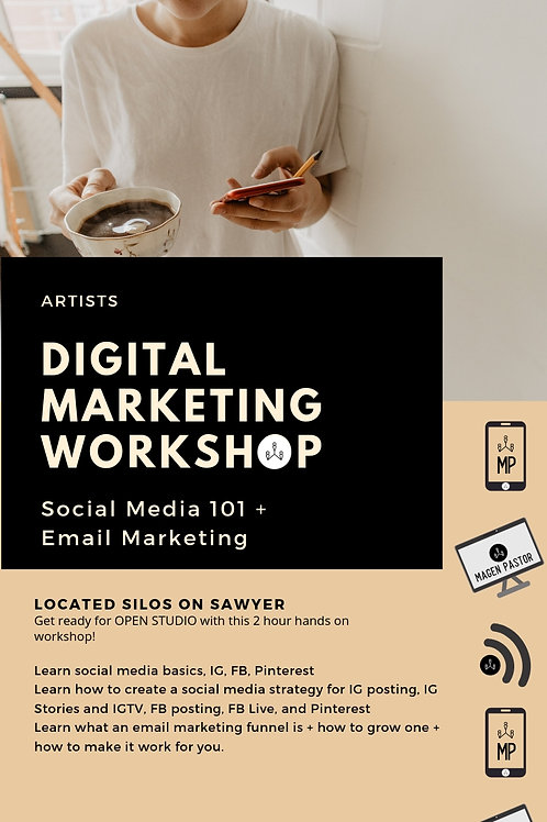 Invitation Only - Artist Digital Marketing Workshop