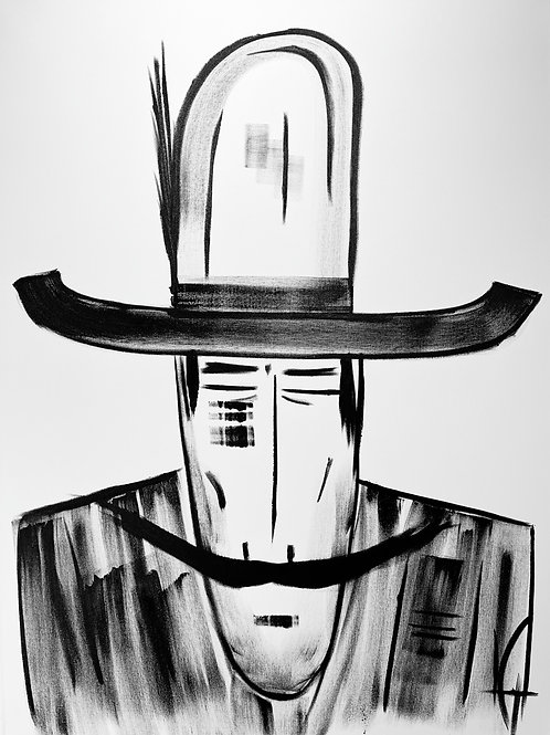 Man in Hat 548
