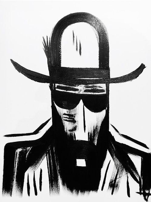 Man in Hat 451