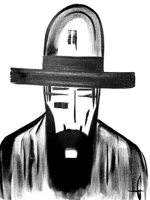 Man in Hat 578