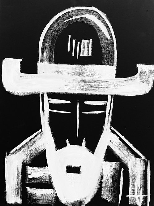 Man in Hat 570