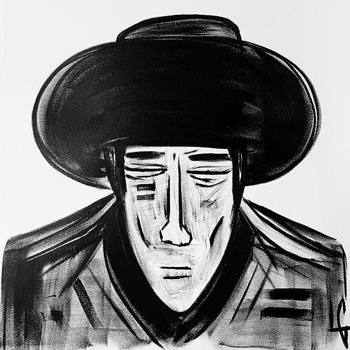 Man in Hat 581