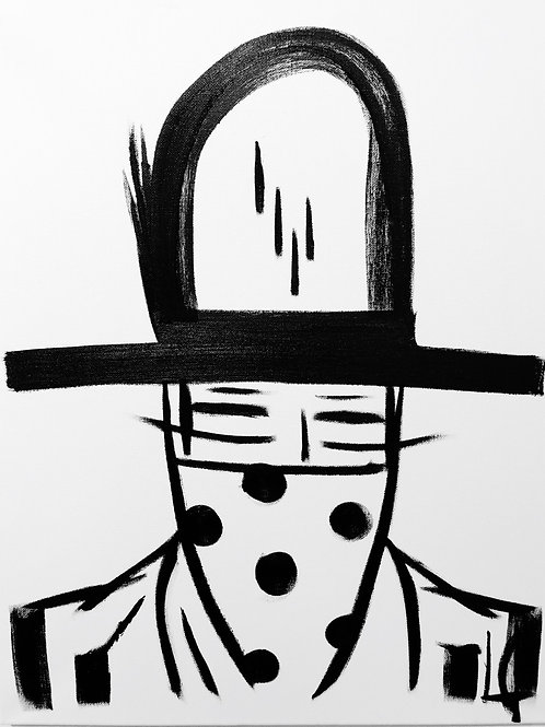 Man in Hat 461