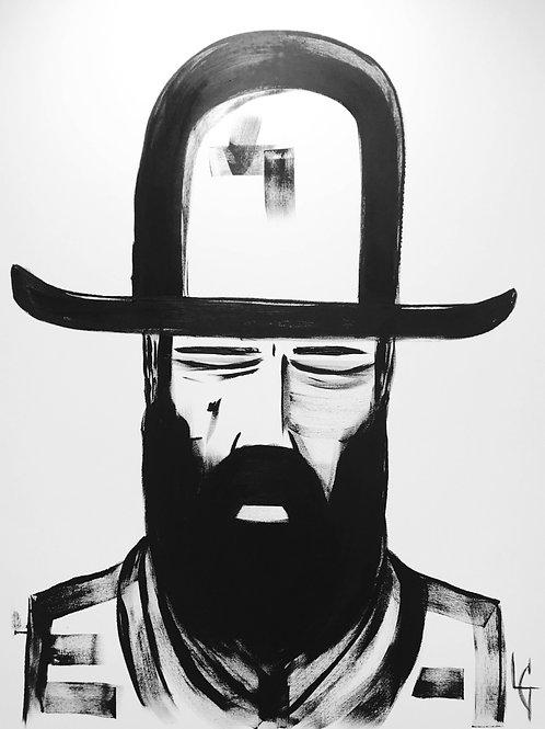 Hombre con sombrero 338 | Grande