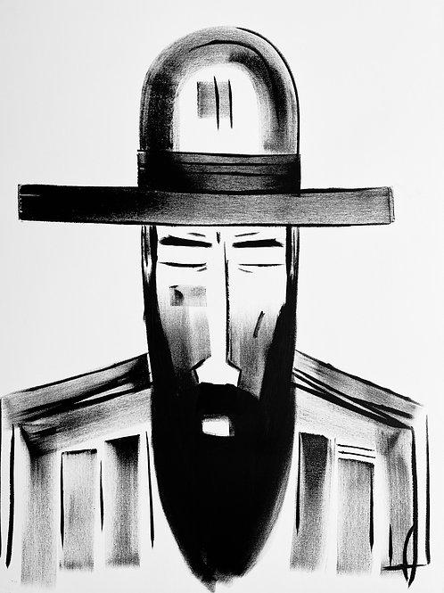 Man in Hat 589