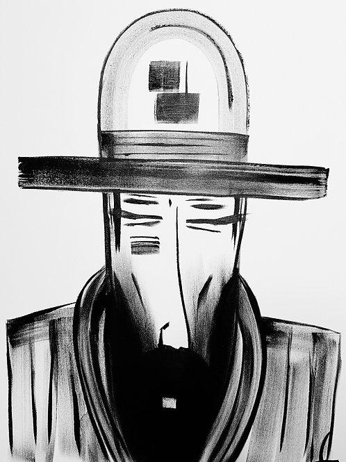 Man in Hat 576