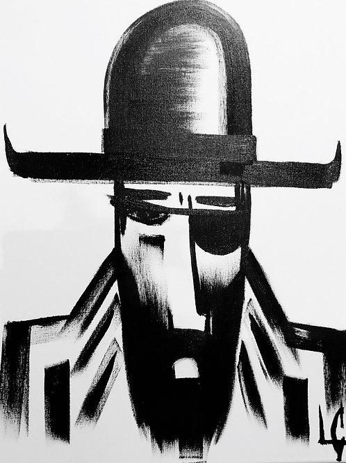 Man in Hat 457