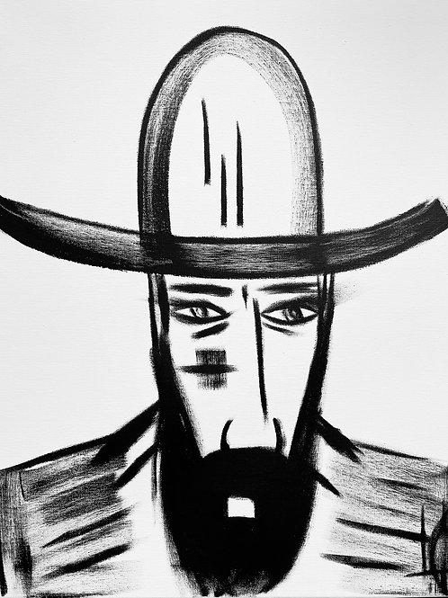 Man in Hat 544