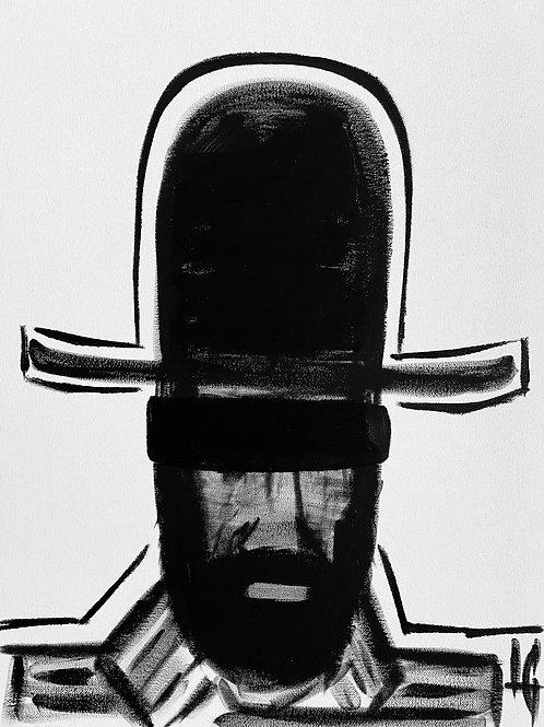 Man in Hat 395