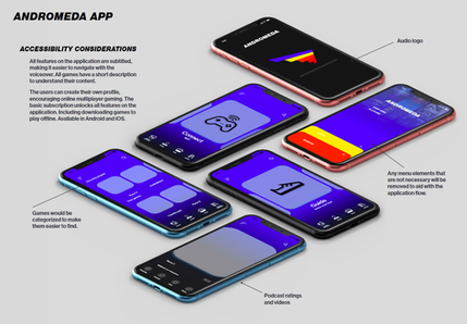 App interface