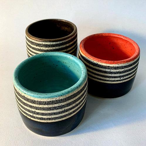 Striped Blue Midnight Tumblers