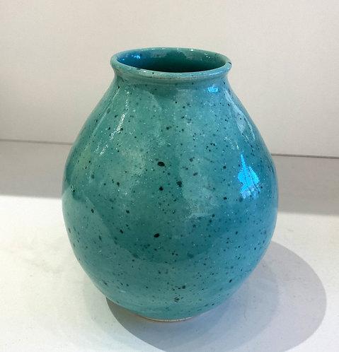 Teardrop Vase in Turquoise