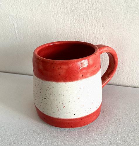 My Mug in Lipstick Red
