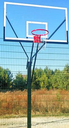 Стойка баскетбольная на одной опоре (вылет 1500мм.)