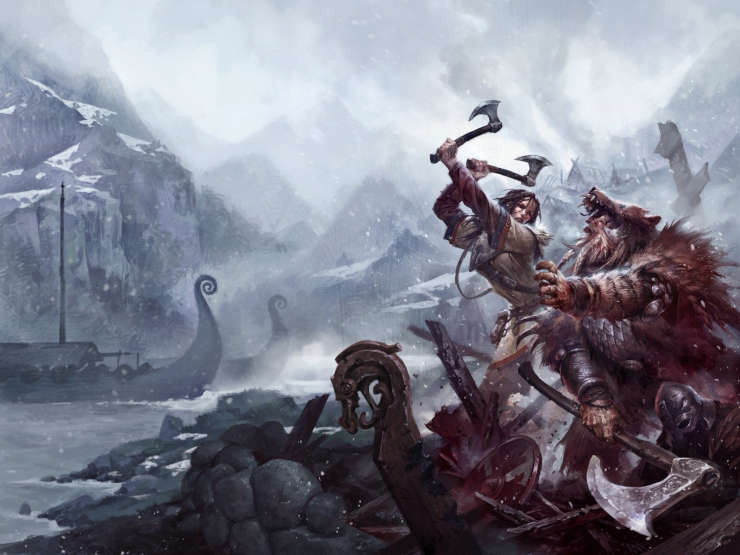 Hellfrost - Norse Adventure with Savage Worlds