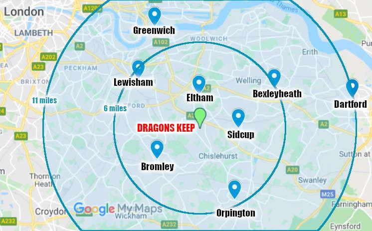 Dragons Keep Roleplay Club - Bexley, Bromley, Chislehurst, Dartford, Eltham, Greenwich, Lewisham, Orpington, Sidcup