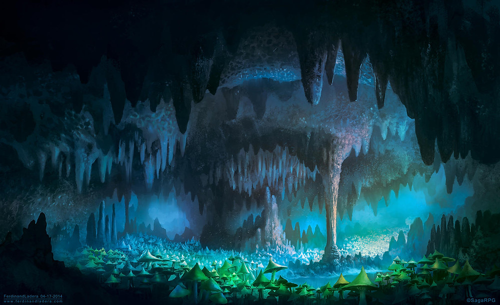 The Caverns of the Underdark - Out of The Abyss