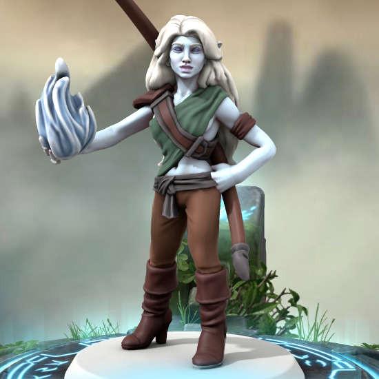 VIssarel Nerinen - Taiga Elf Elemental Mage