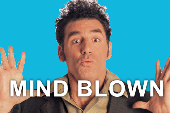 Kramer Mind Blown Jerry Sienfeld