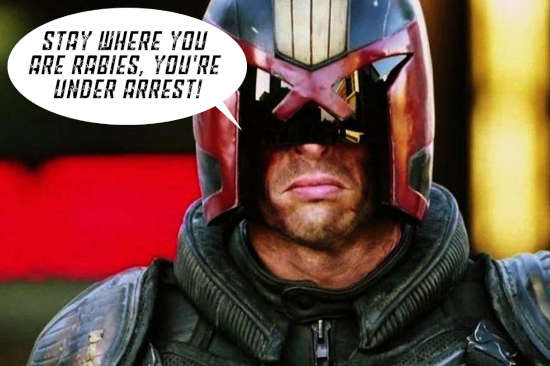 Judge Dredd Savage Worlds Prog 6