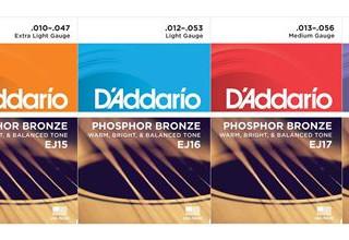D Addario Phosphor Bronze 99:-